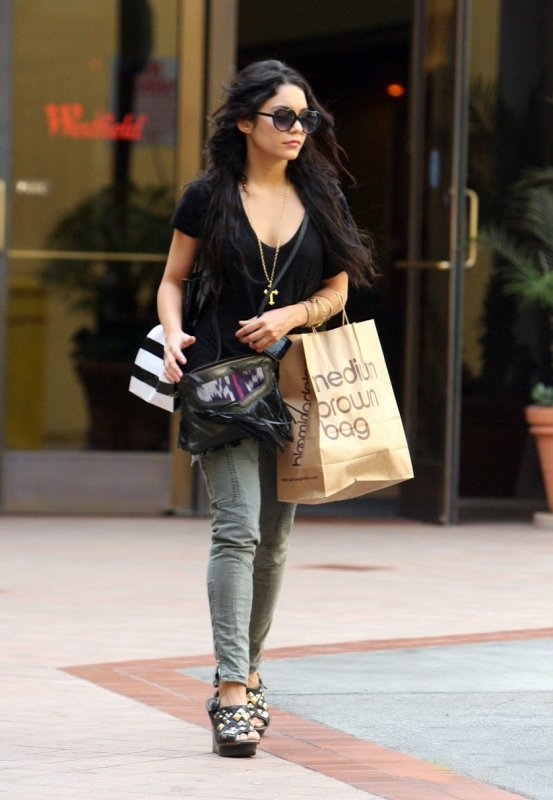 vanessa hudgens style for less. Real vs Steal: Vanessa Hudgens