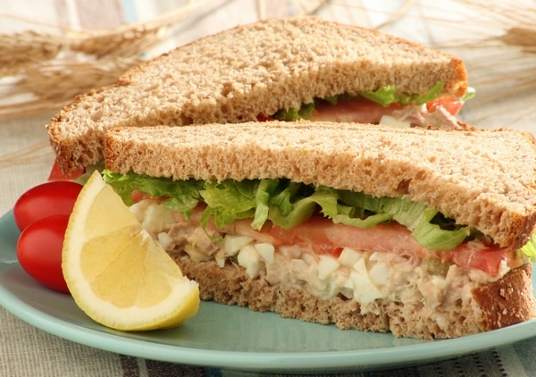 Sandwich recipes from the deen brothers lady and the blog for How to make a tuna fish sandwich