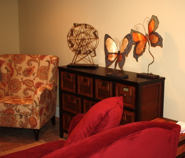 Check Out My New Basement Thanks To Pier 1 (VIDEO)