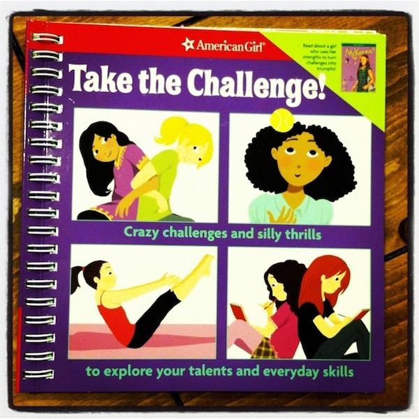 "Loving The American Girl ""Take The Challenge"" Book"