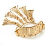 Rita Hayworth Bracelet with Stones & Tassel