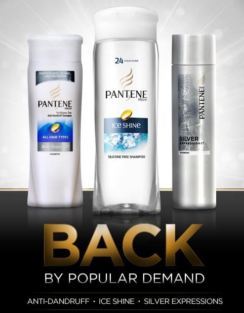 pantene back by popular demand