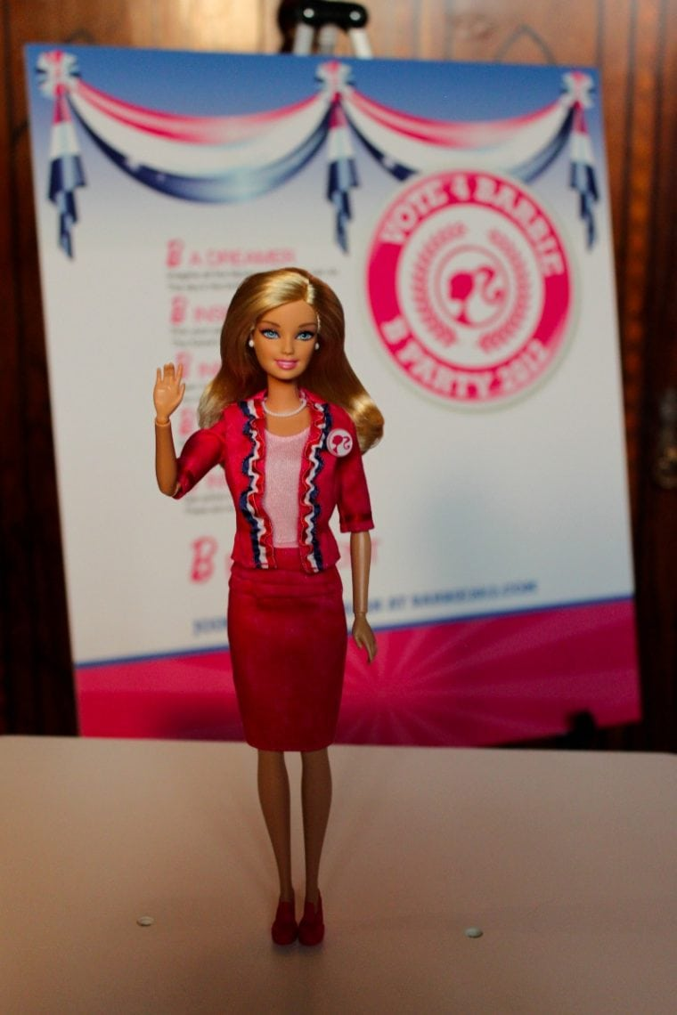 Barbie's 2012 Presidential Glampaign with Chris Benz #Barbie2012