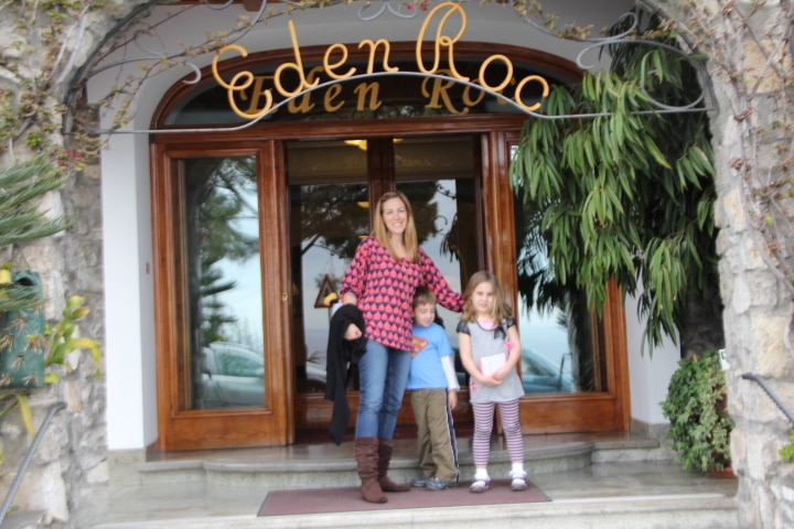 Visiting Positano With The Children: The View From Hotel Eden Roc