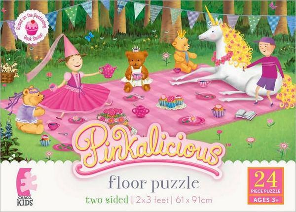 pinkalicious floor puzzle