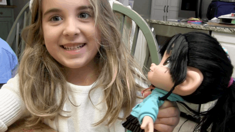 Vanellope Von Schweetz talking doll from Disney's Movie Wreck It Ralph