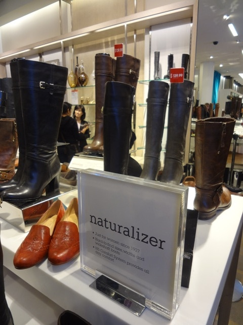 Naturalizer Fall 2012 Collection