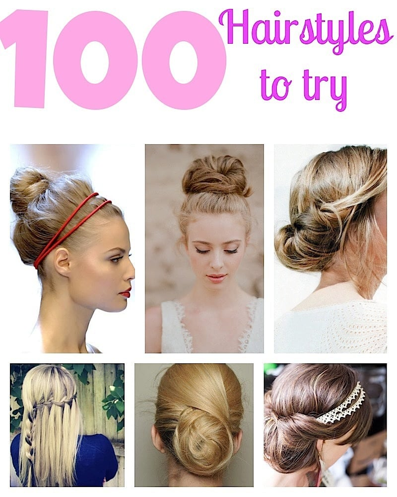 100 Top Model Search: 100 Top Hairstyles Every Woman Should Try: Braids, Curls