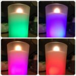 Air Wick Color Changing Candle four colors