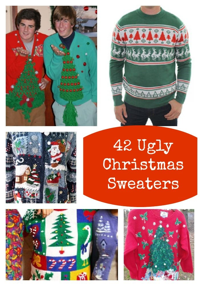 Ugly Christmas Sweaters Inspiration Lady And The Blog