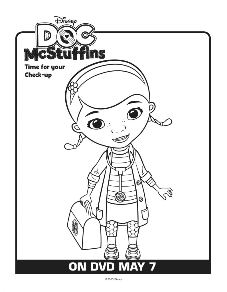 It's just a photo of Decisive Free Doc Mcstuffins Printable