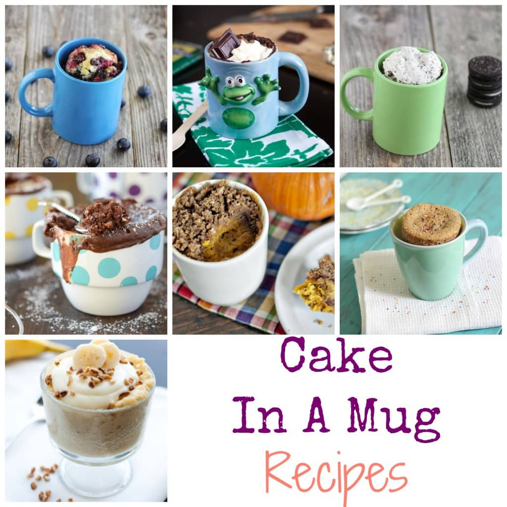 7 Cake In A Mug Recipes: Easy To Follow And Fun To Serve