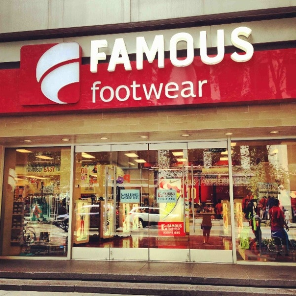 Details: By signing up for emails from Famous Footwear, you'll be the first to hear about new styles and products, as well as upcoming promotions. And just for signing up today you'll receive an exclusive $5 off your next purchase of shoes for the whole family.
