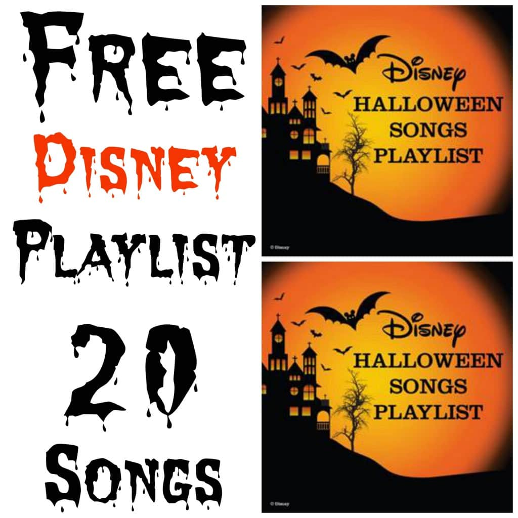 Free Disney Halloween Music Playlist: 20 Spooky Songs For Your Party | Lady and the Blog