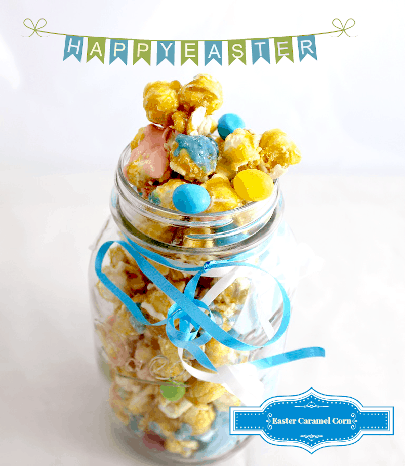 Easter Caramel Corn