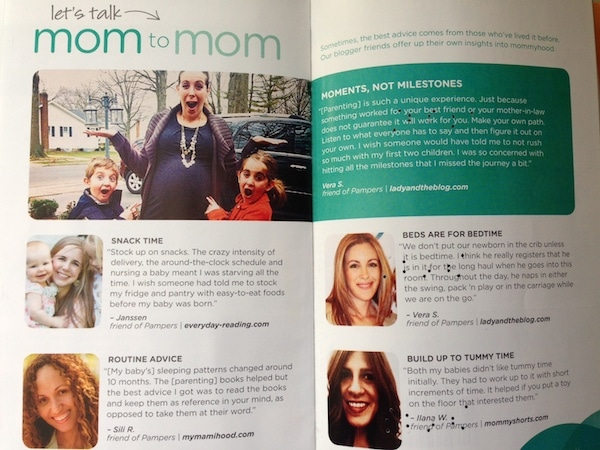 Check Your Pampers Mailer This Month: I'm In It With My Kids!