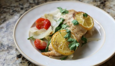 Tilapia Recipe Lemon Tomato Onion