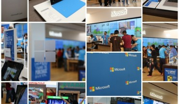 Microsoft Store Collage