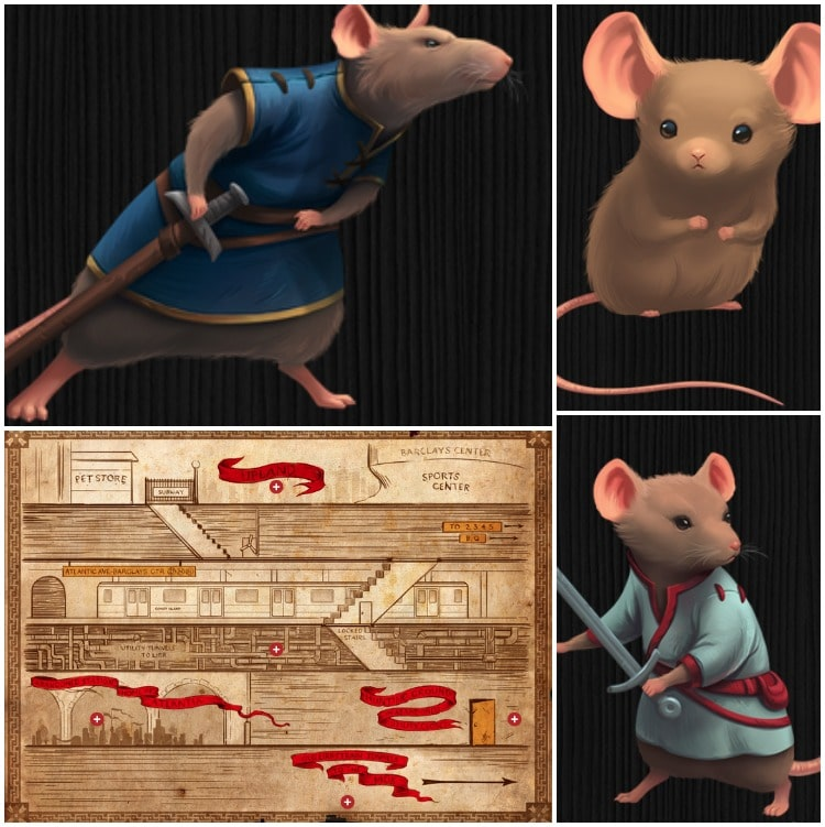 Mouseheart Collage