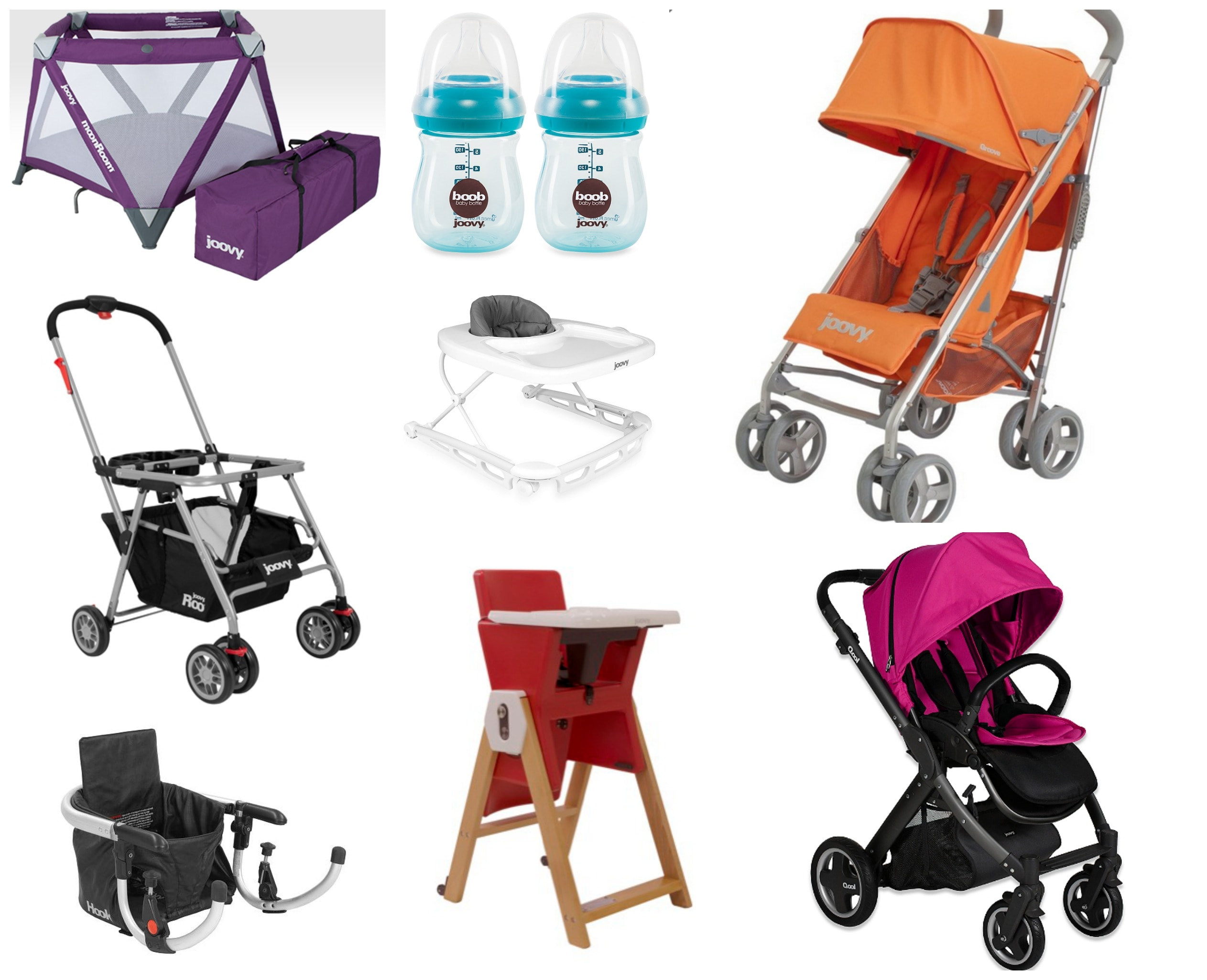 New Moms Rejoice: Joovy Has You Covered for Bottles to Strollers and Everything in Between