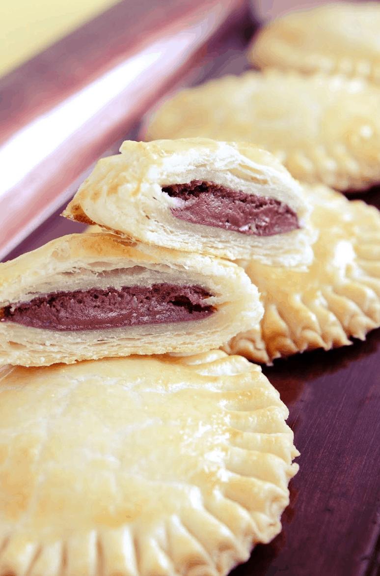Baked Nutella Mini Pies