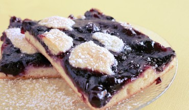 Blueberry Pie Bars Recipe
