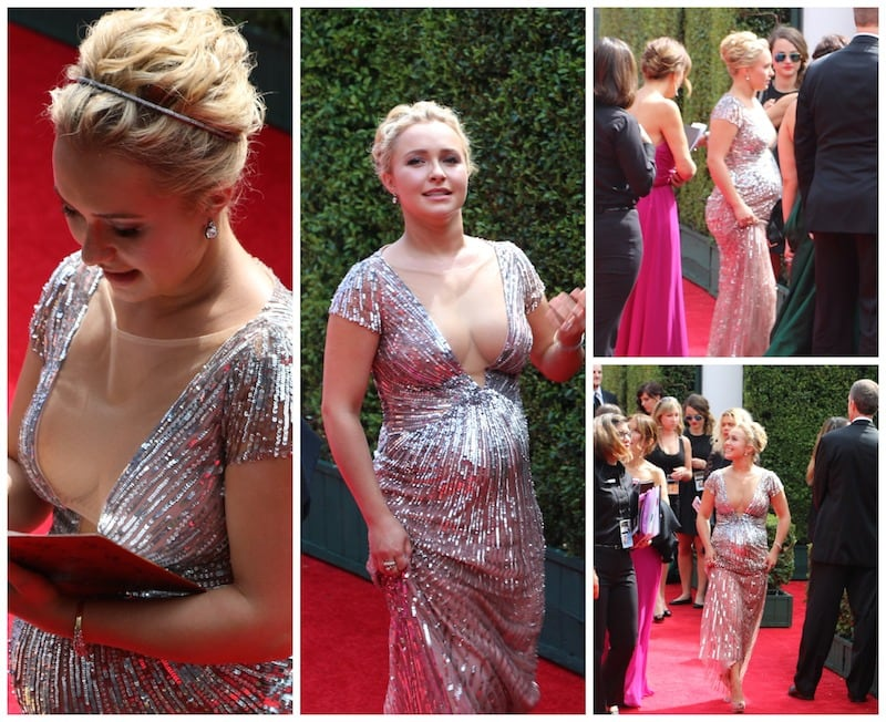 Hayden Panettiere Emmy's Red Carpet 2014