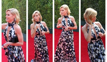 julie bowen emmys 2014 red carpet