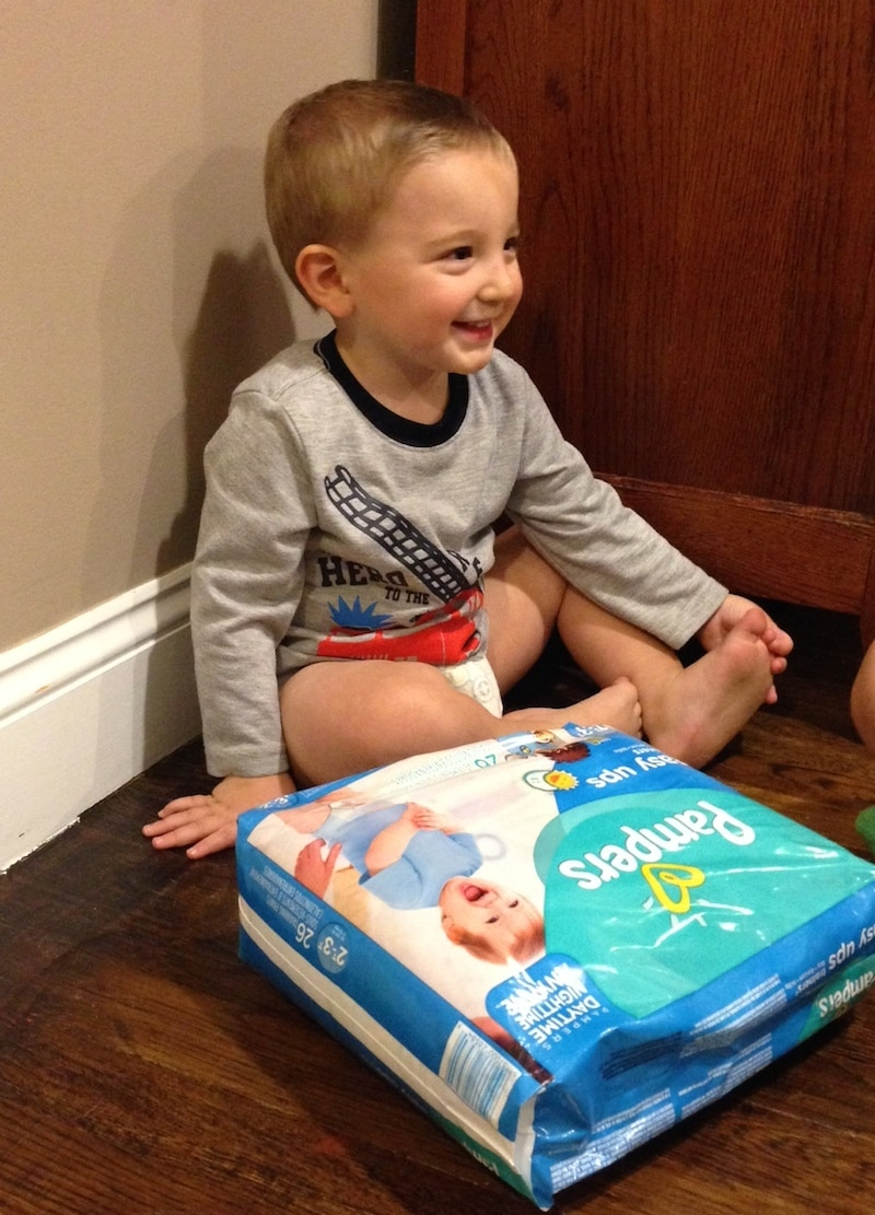 Pampers Easy Pull Ups