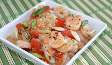Spicy Lemon Garlic Shrimp Recipe