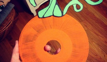 Halloween DIY Project: Pumpkin Album