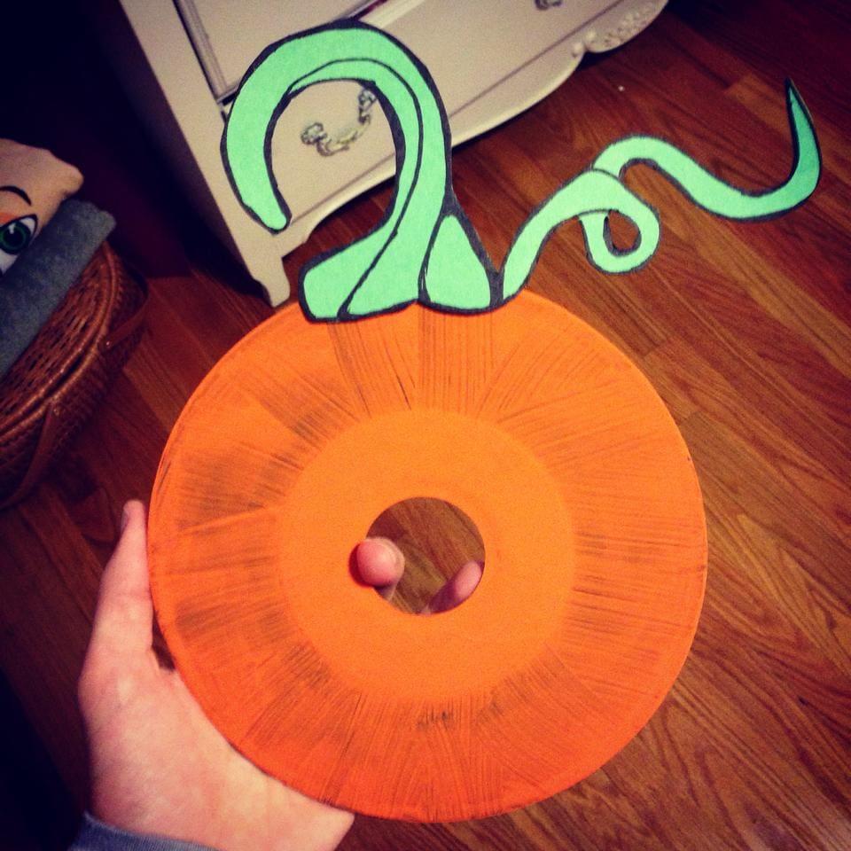 Halloween DIY Project: Pumpkin Album