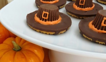 Pilgrim Hat Cookies, Thanksgiving