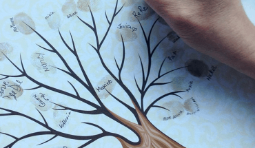 thumbprint tree keepsake