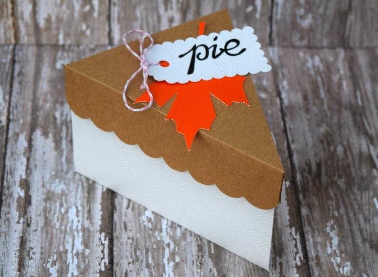 Thanksgiving Pie Upclose
