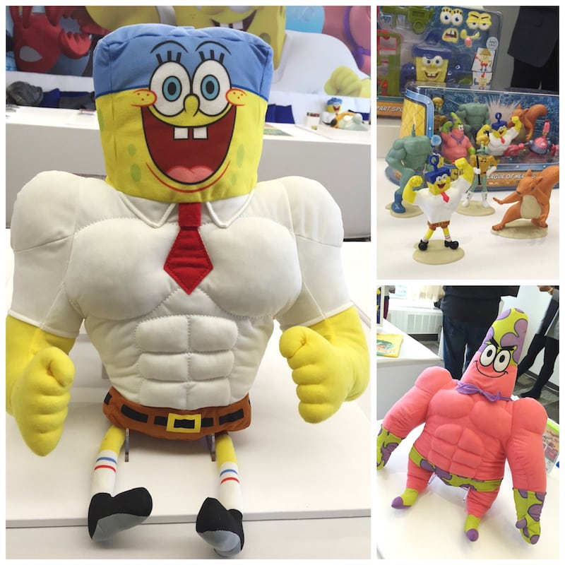 The Spongebob Movie Out Of Water Product Launch Lady