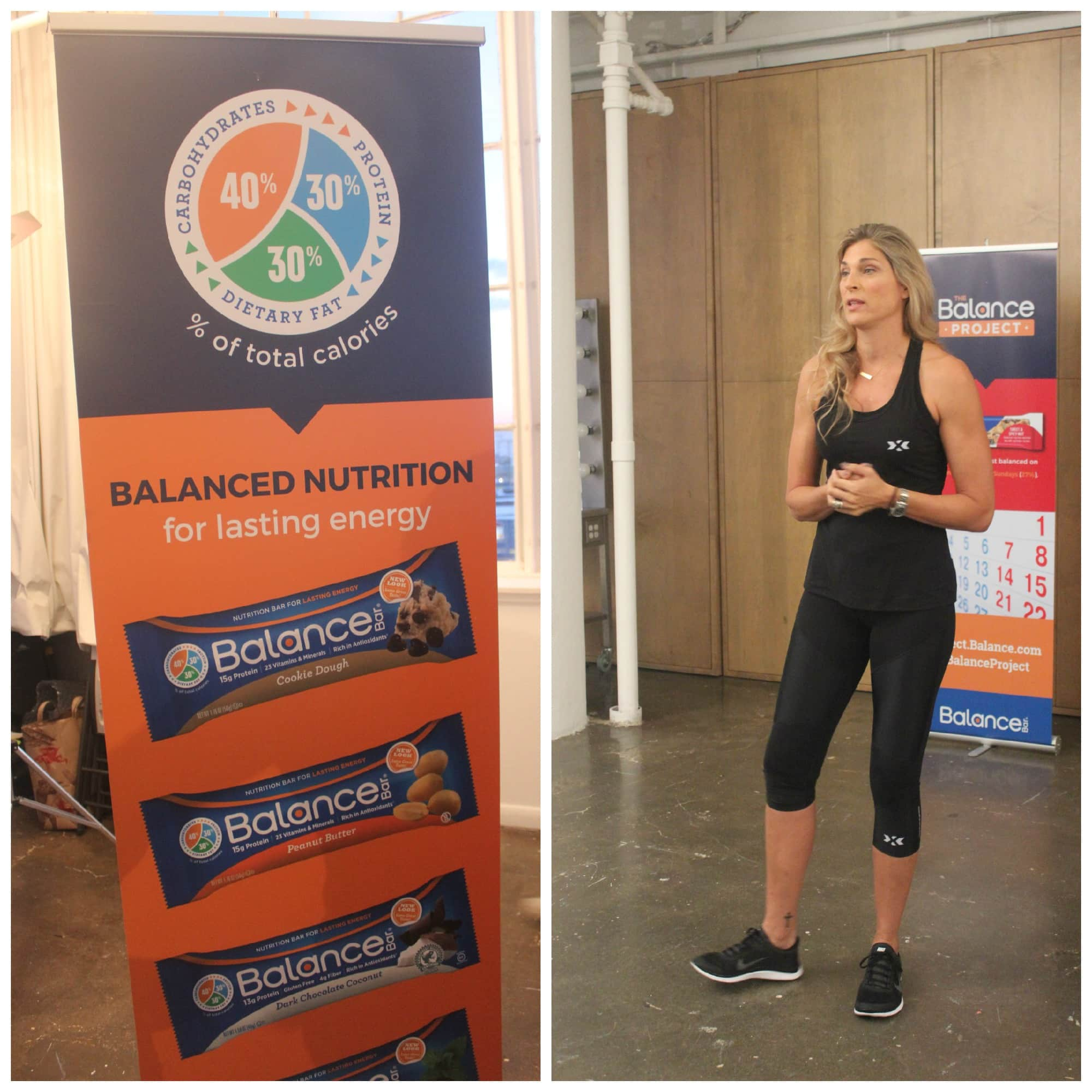 Gabrielle Reece's HIGHX Workout & The Balance Project @BalanceBar #balanceproject