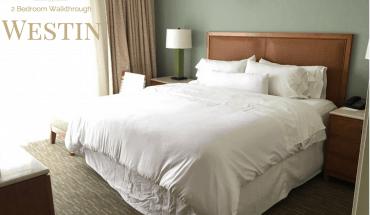 Westin Orlando Universal Boulevard - 2 bedroom suite Walkthrough