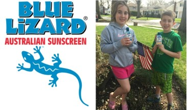 Blue Lizard 2 Collage