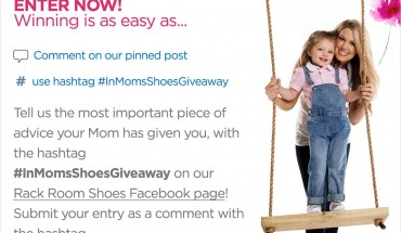 Rack Room Shoes Motherly Advice Contest