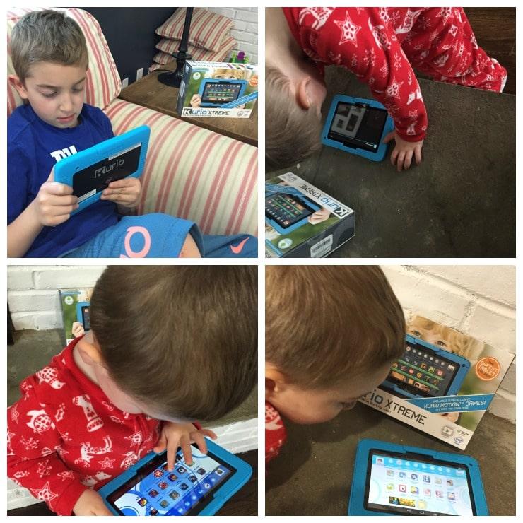 Kurio Xtreme Tablet 2 Collage