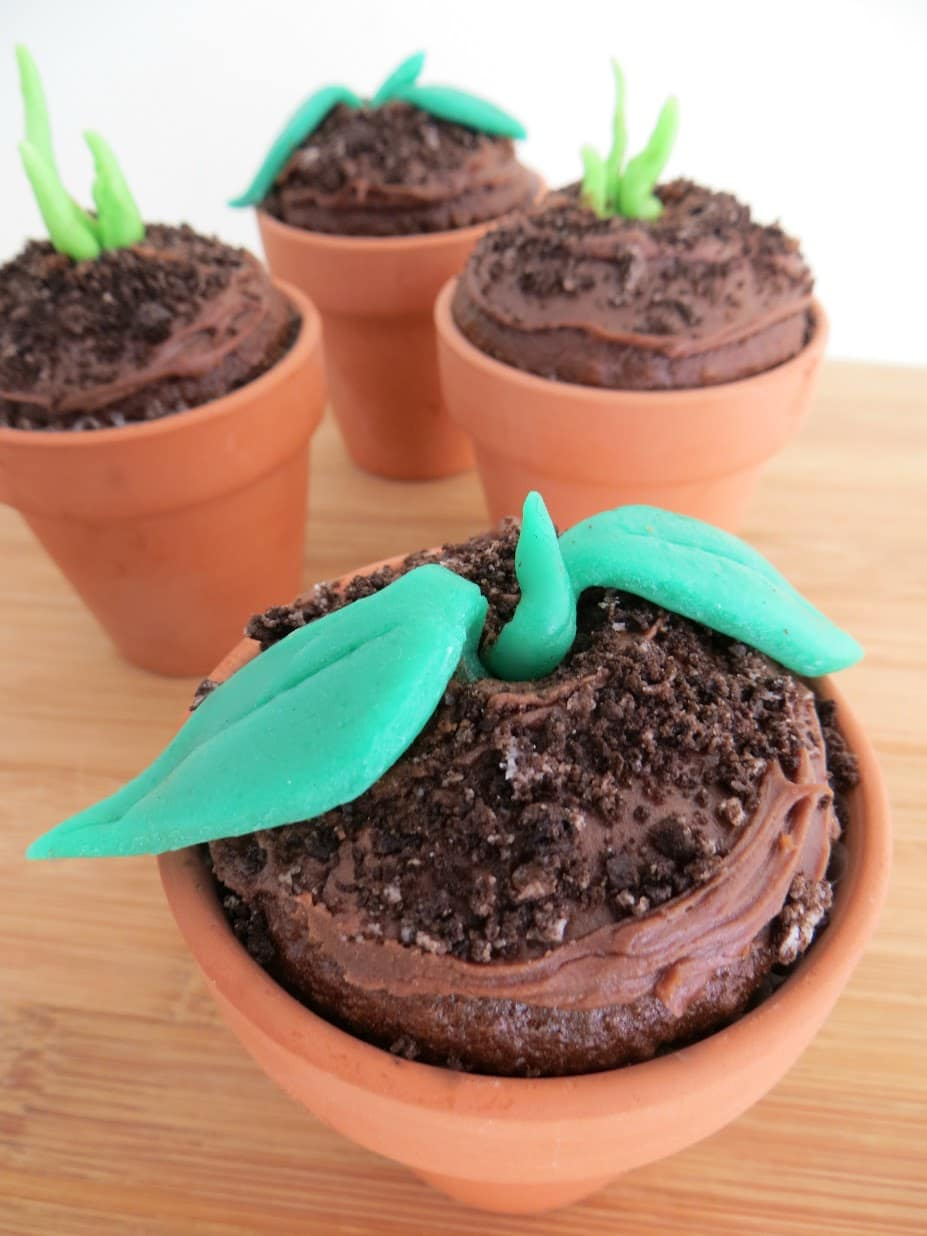 Earth Day Sprout Cupcakes: Fun Recipe For Kids