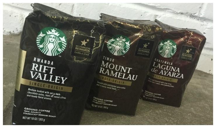 Starbucks Single Origin 2 Collage