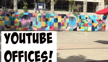Visiting YouTube Offices