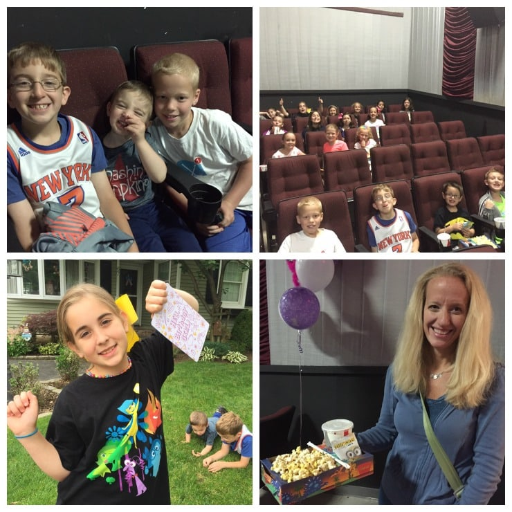 Inside Out Movie Party 6-15 Collage