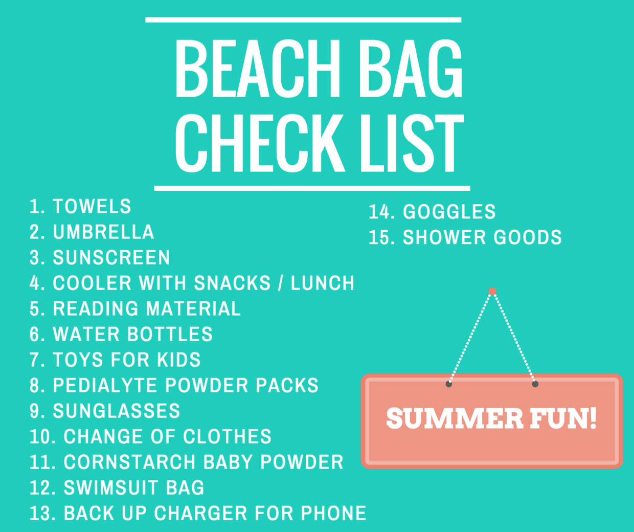 Beach Bag Essentials For Families On The Go: The Ultimate ...