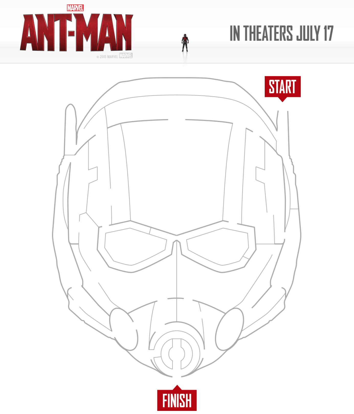 Ant-Man Activity Sheets