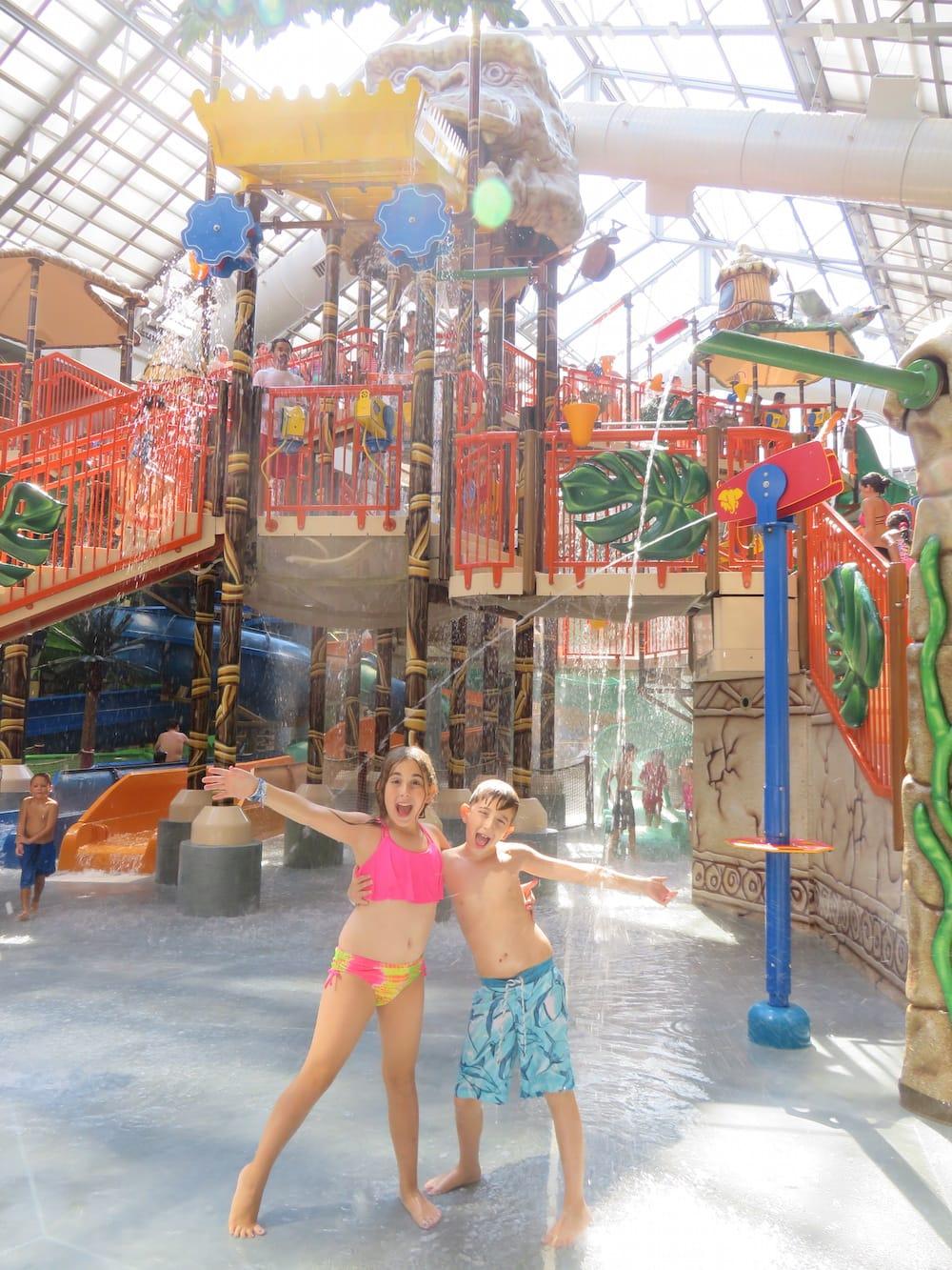 Kalahari Resorts In The Poconos: Water Park Fun For The