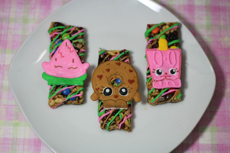 How To Make Shopkins Granola Bars: Great Snacks For Girls