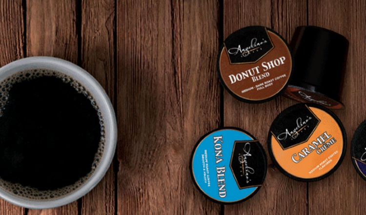 Angelino's Coffee Collage